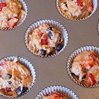 Tri- Berry Muffins by Recipe Girl