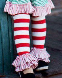 Candy Cane Bliss Legwarmers