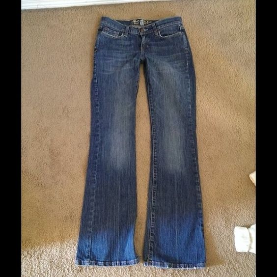 """Spotted while shopping on Poshmark: """"Abercrombie and Fitch jeans 4 long""""! #poshmark #fashion #shopping #style #Abercrombie"""