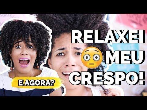 Como Fazer Relaxamento Capilar Em Casa Rose Hapuque Youtube