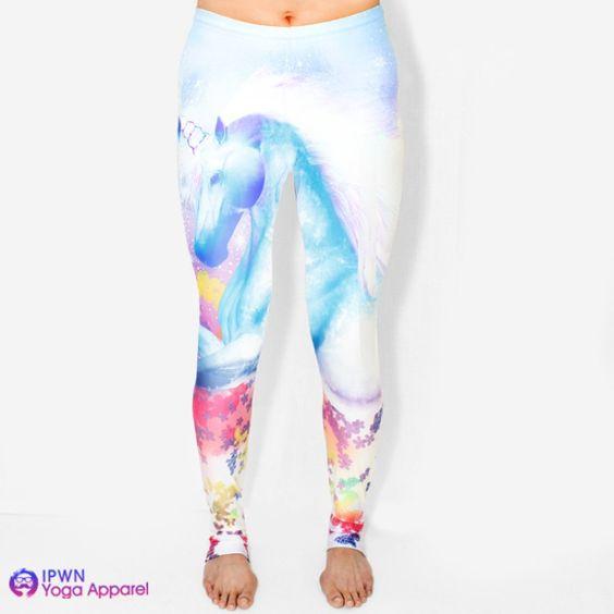 Yoga Leggings, Women's Pants And Unicorns On Pinterest