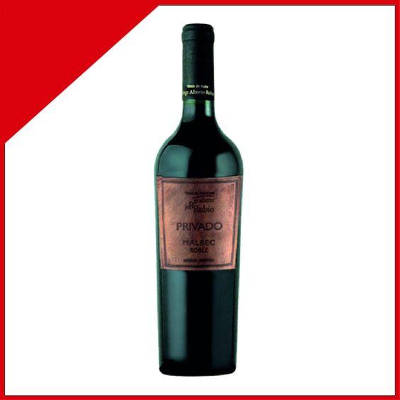 Jorge Rubio Privado Roble Malbec Es un buen Malbec mendocino, cumpliendo con los requisitos de sabor y aromas. El gusto es muy agradable y tiene una capacidad exquisita de acompañar carnes asadas. No probé ninguna botella de varios años de guarda, pero parece un vino que mejora con los años en cava.