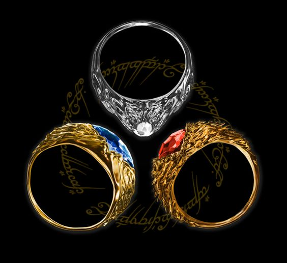 Three Rings For The Elven Kings In Elvish