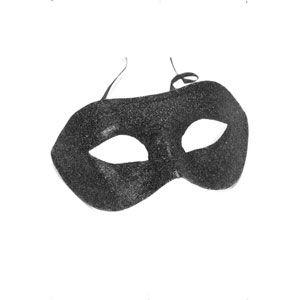 Gino Eyemask Black Glitter With Label