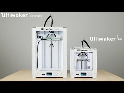 Ultimaker Extended & Ultimaker 2 Go 2015 - the first print by iGo3D.com - YouTube