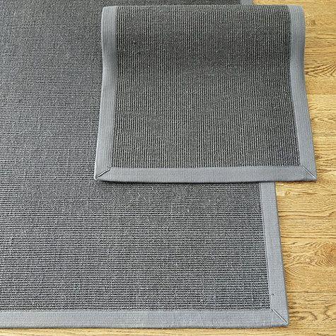 Gray Sisal With Gray Border Rug By Ballard Designs I Gra