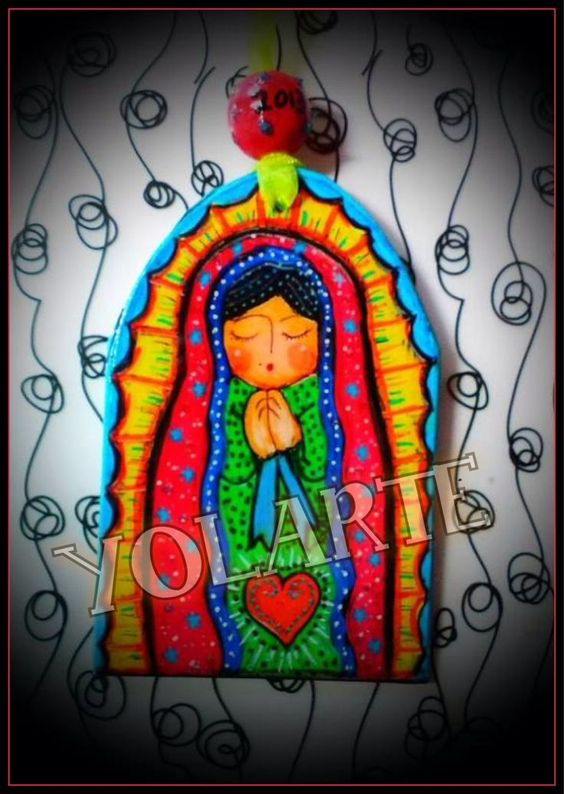 Virgen De Guadalupe Mexican Arts | VIRGEN DE GUADALUPE YOLARTE