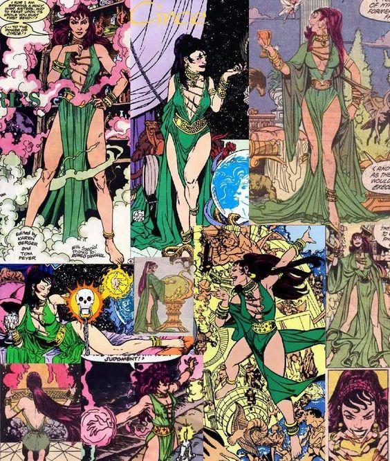 Resultado de imagem para circe dc comics