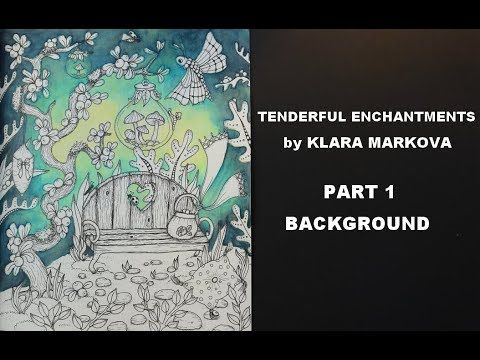 Background Tenderful Enchantments Part 1 Youtube Faber Castell Albrecht Durer Faber Castell Watercolor Pencils