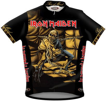 Iron Maiden Piece Of Mind Cycling Jersey Heavy Metal