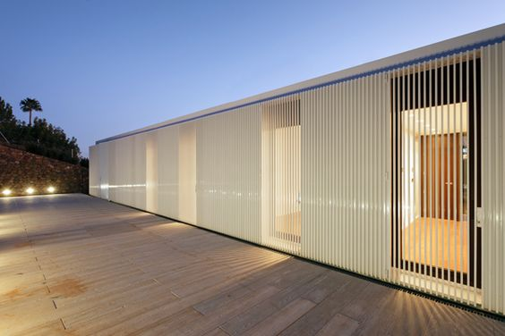 : House Interior Design, Exterior Screens, Castellón Spain