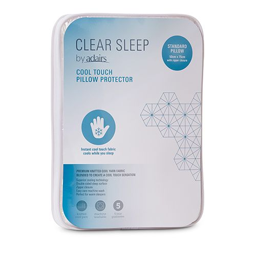 Clear Sleep Clear Sleep Cool Touch Standard Pillow Protector