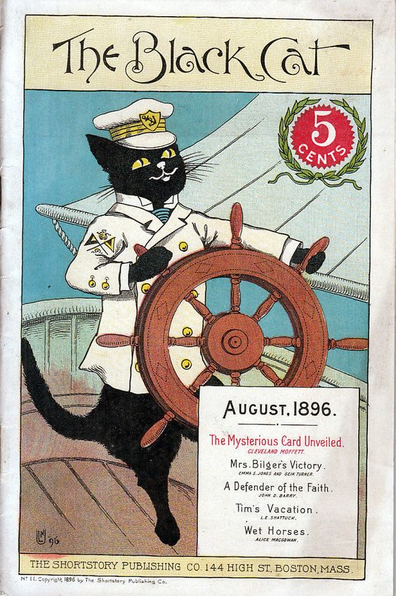 The Black Cat Magazine No. 11 August, 1896: