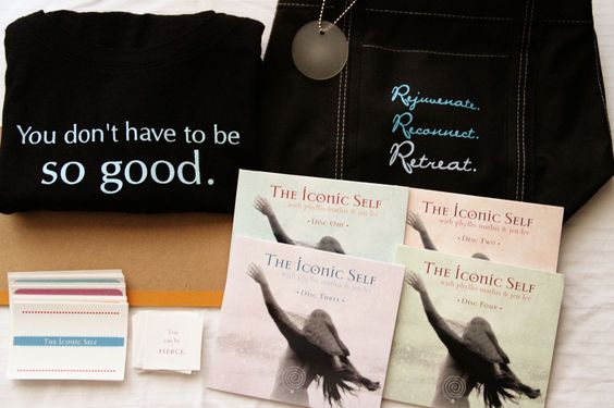 The Iconic Self, by Phyllis Mathis and Jen Lee, is now available as a home retreat kit.