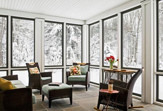 Central Heat, Oil, Wood  Whatu0027s Best For Heating Your Home? the - wohnwintergarten wintersonne verglasung