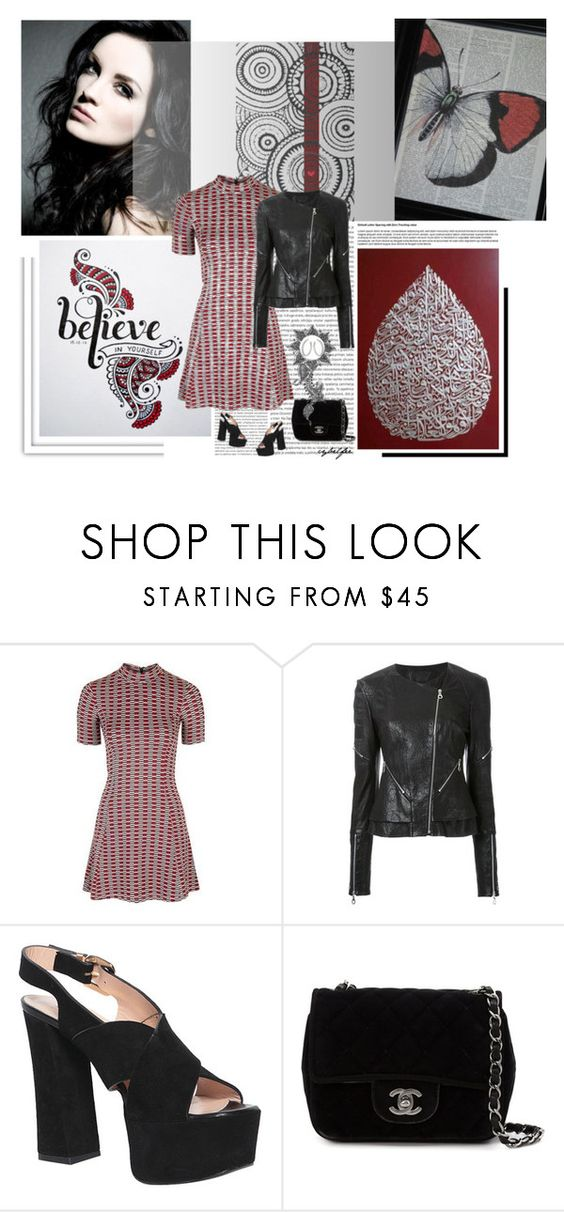 """""""Pattern"""" by cybelfee ❤ liked on Polyvore featuring Oris, Kitx, Atos Lombardini, Chanel and Giuseppe Zanotti"""