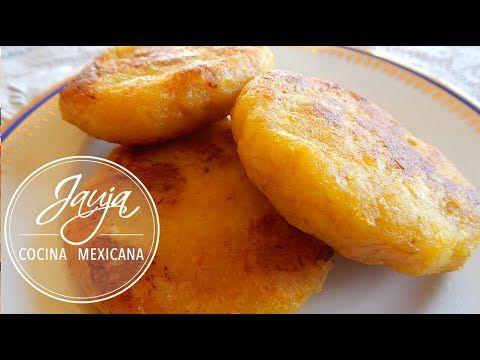 Tortitas De Plátano Macho Youtube Tortas De Plátano Tortitas De Platano Macho Recetas Con Platano