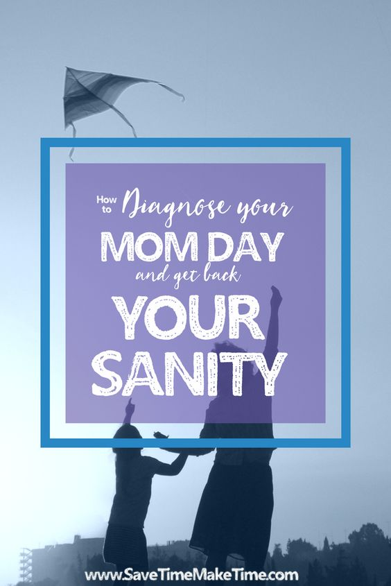 Sometimes our routines get into a rut, and for better or worse, we just maintain that rut out of habit. Especially if we are lacking sleep, (which almost every mom is) it's hard to have the brain power to realize that things could be better if we took a closer look. How to Diagnose your Mom Day and Get Back Your Sanity  Here is how a typical morning went…