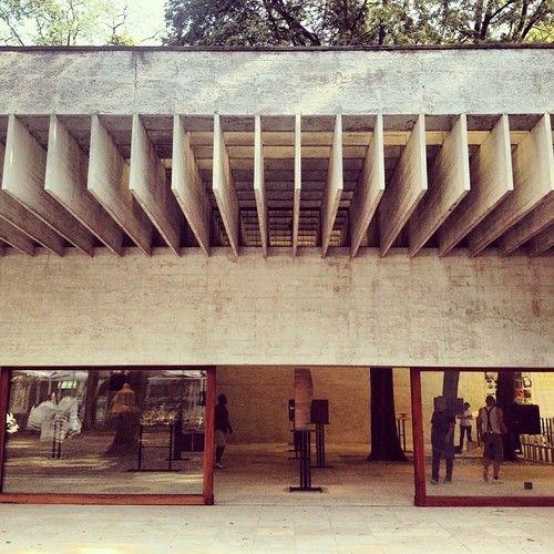 The Nordic Pavilion by Sverre Fehn