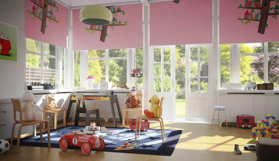 Raak geïnspireerd! - Speel met licht - Luxaflex® Rolgordijnen