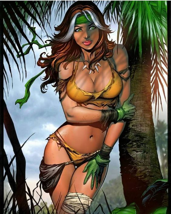 #savagesunday #savageland #rogue #savagelandrogue #marvelcomics #marvel #tylerkirkham #comicart #comics #drawings #babes #xmen #art #womanart #women by tylerkirkhamart