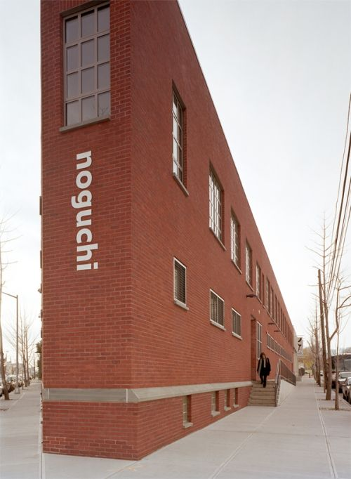 Architecture New-yorkaise audacieuse : Noguchi museum, Long Island, Queens, New York