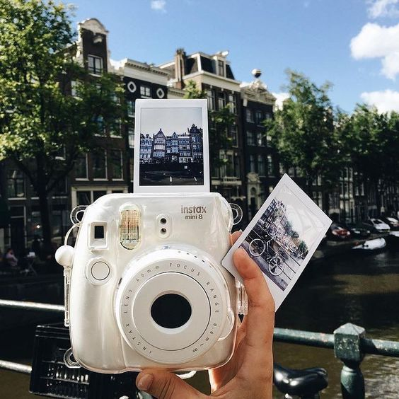 Take a snap of your favourite places with your instax camera