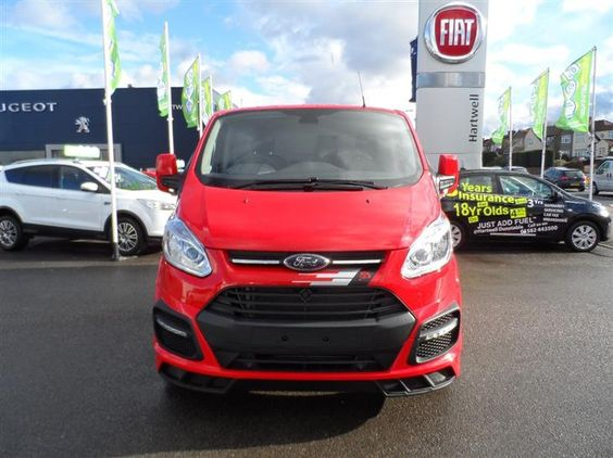 Used 2016 Ford New TRANSIT CUSTOM M-SPORT 290 L1 2.2 TDCI 155PS in Race Red with Hyper Silver Wheels Brand New! for sale in Bedfordshire | Pistonheads