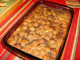 pecan pie brownies! I need to make this ASAP.