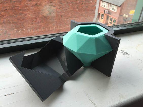 Rubi SILICONE Mold Grande Candle Mold reutilizável por BoldPrints