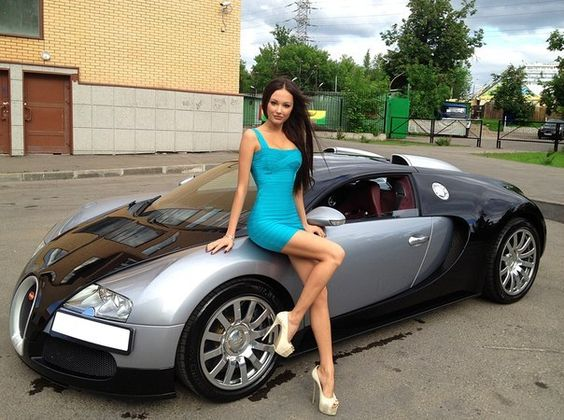 Julia Adasheva / Bugatti Veyron | Cool Rides Hot Girls | Pinterest | Bugatti  Veyron, Girl Car And Car Girls