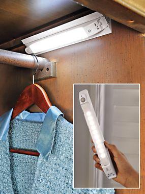 10-LED Anywhere Sensor Light - Battery Powered Light - Emergency ...