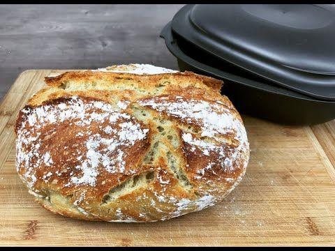 Super knuspriges Brot backen im Ultra von Tupperware, no knead