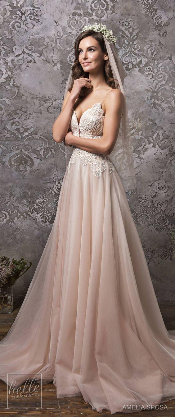 stunning  Amelia Sposa Wedding Dress