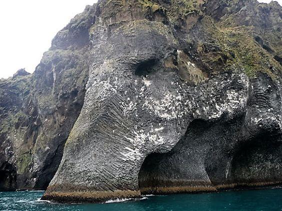 IJsland: De olifant rots.