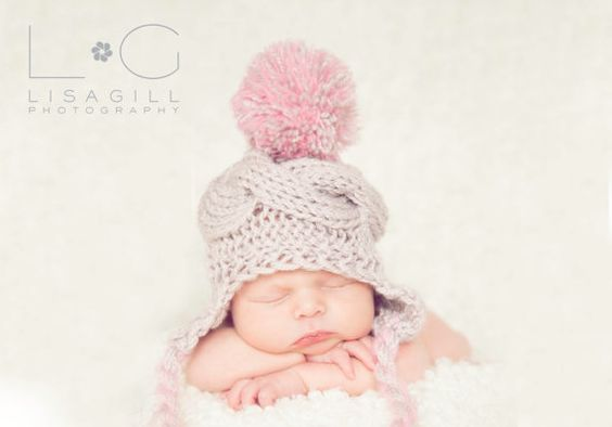 Hey, I found this really awesome Etsy listing at https://www.etsy.com/listing/165127784/knit-baby-hat-newborn-baby-girl-hat