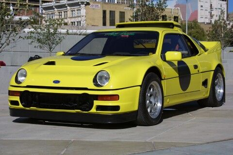 1986 Ford Rs200 Evolution Street Car Modified Specifications And