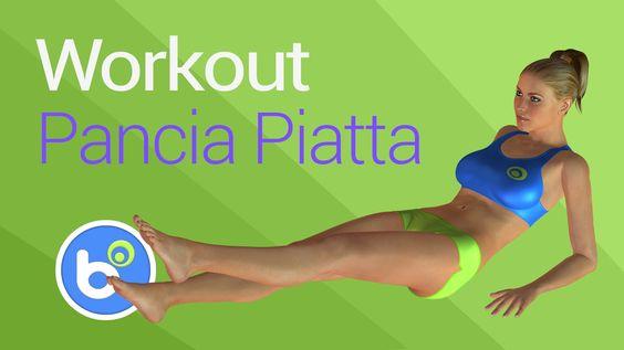 Pancia piatta e soda con gli esercizi per gli addominali? Un programma di allenamento settimanale intenso per dimagrire ed eliminare il grasso in eccesso dal...