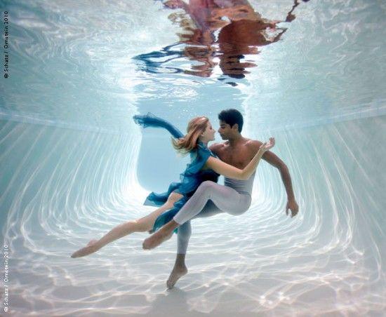 La hidroterapia es un método eficaz de relajación para los bailarines