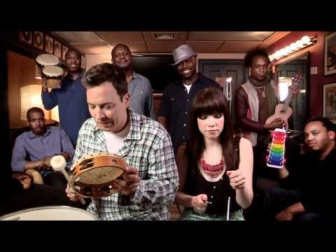 Call me Maybe with the Roots and Jimmy Fallon and Carly Rae Jepsen