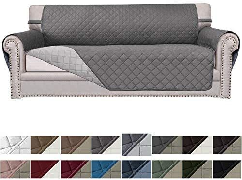 Amazon Com Easy Going Sofa Slipcover Reversible Sofa Cover Furniture Protector Couch Cover Elastic Straps Pets Kids In 2020 Couch Covers Sofa Covers Best Couch Covers