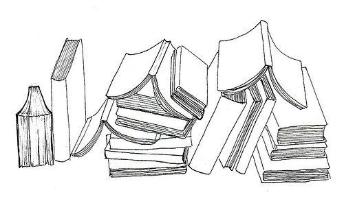 libros apilados tumblr - Buscar con Google: