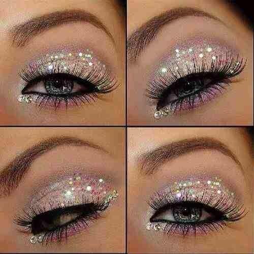 #glittermakeup