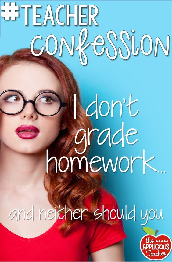Actually make your life easier this year and STOP grading your homework. The reasons will surprise you.