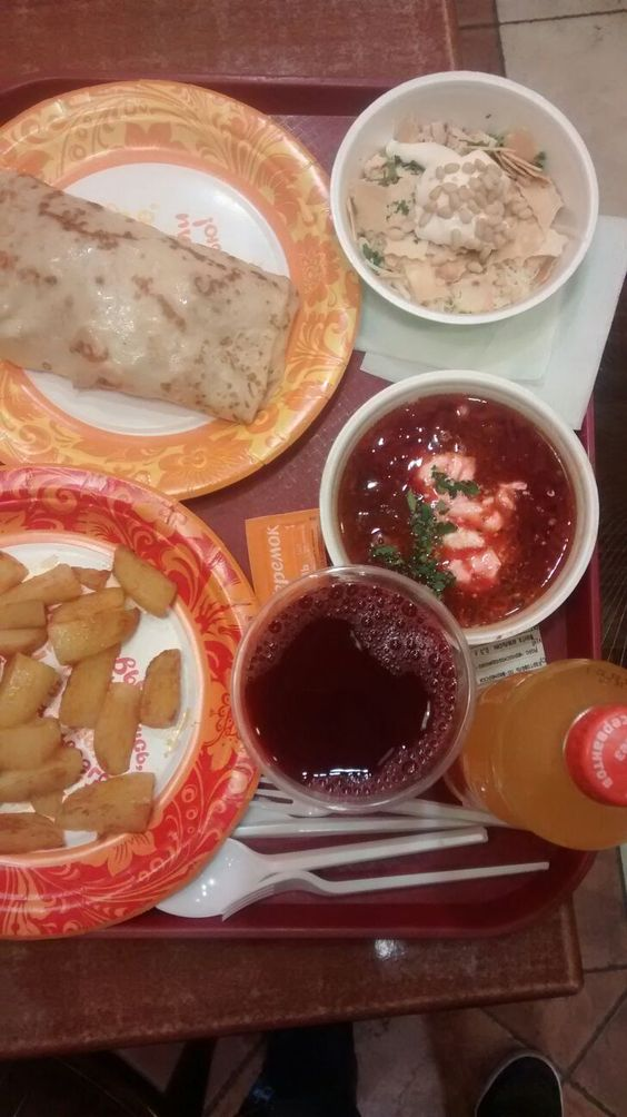 Comer barato en Moscú