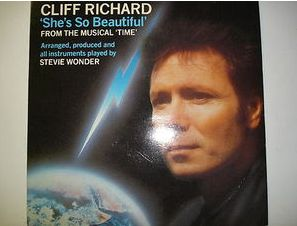 At £4.20	  http://www.ebay.co.uk/itm/Cliff-Richard-Shes-So-Beautiful-EMI-Records-7-Single-EMI-5531-/251143628254