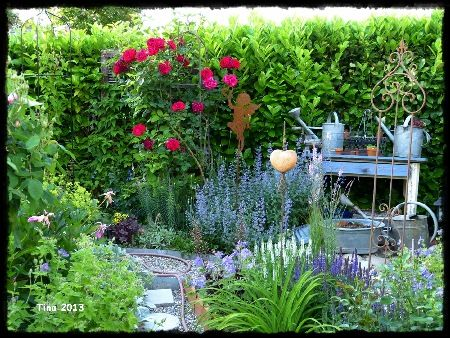 wunderschöner Garten!