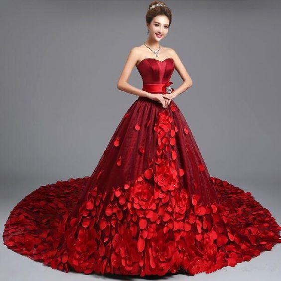 cor vermelha vestidos chineses - Pesquisa Google