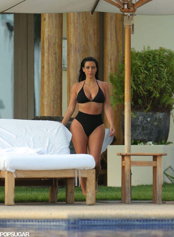 Dangerous Curves Ahead: 37 of Kim Kardashian's Hottest Bikini Photos