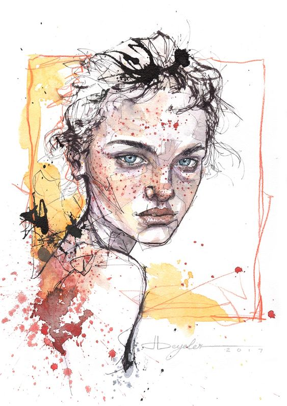 """dominicbeyeler: """"Sketch of the day… """""""